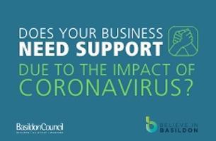 Decorative image - coronavirus (COVID-19) - Business; Do you need support?