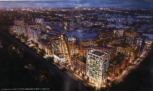 Decorative image showing Basildon town centre masterplan proposals