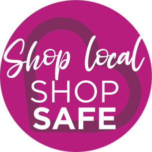 COVID-19 - Shop Local Stay Safe brand logo