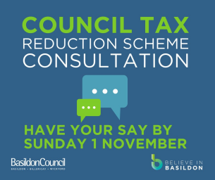 Image promoting public consultation on proposed changes Council Tax Reduction Scheme