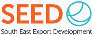 Graphic image: South East Export Development (SEED)  brand logo