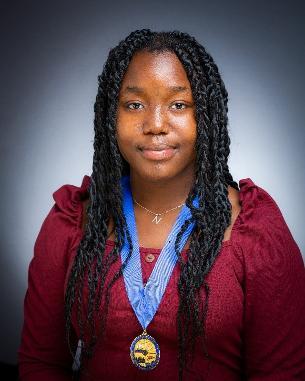 Decorative image of Youth Mayor of Basildon, Naomi Ojo
