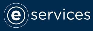 Blue e-Services logo