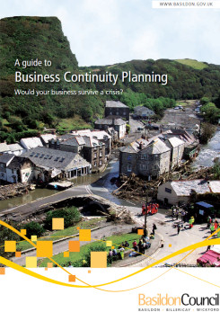 Image of Booklet - Guide to Business Continuity Planning