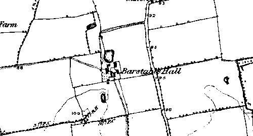 Map of Basildon 1876