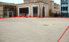 Image of Basildon town centre promotional, trade and event space for hire - St Martin's Square event space
