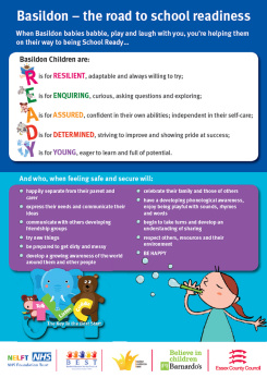 Image of Basildon School Readiness Poster