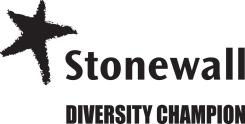 Image displaying the Stonewall Diversity Champions Logo