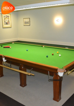 Image advertising snooker room hire at The Place, Pitsea