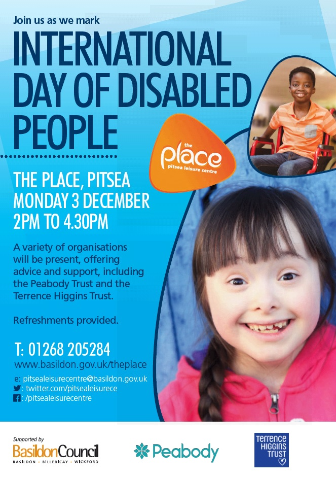 International Day of Disabled People poster