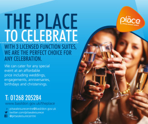 The Place To Celebrate - Hall hire at The Place, Pitsea