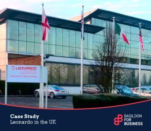 Image for Basildon for Business Case Study - Leonardo