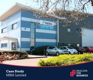 Image for Basildon for Business Case Study - MIRA Ltd