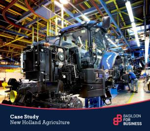 Image for Basildon for Business Case Study - New Holland Agriculture