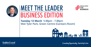 Image showing Meet The Leader - Business Edition! event poster March 2019