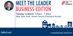 In the News:- Businesses invited to Meet the Leader event
