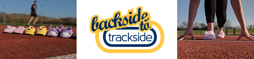 Image promoting the Backside to Trackside beginners' get fit programme