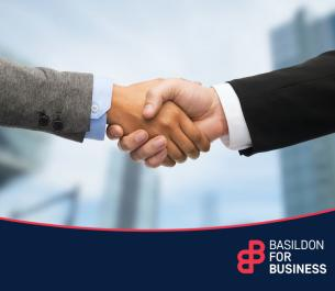 Image promoting Basildon Council Commercial Services Partners and Clients