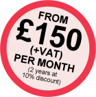 Image stating Roundabout Sponsorship prices from £225 plus VAT per month