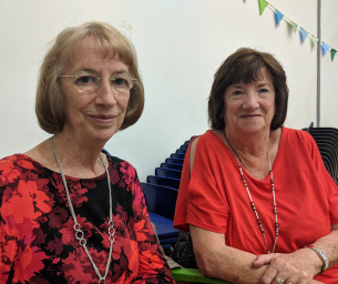 Photo of Basildon at 70 - Monday Memory Contributors - Sarah O'Neil and sister Anne