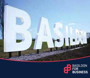 Image promoting Basildon Council's one-stop service specially set up to assist and encourage film and TV production companies that want to film in the borough.