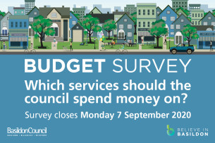 Image advertising the Budget Survey 2020