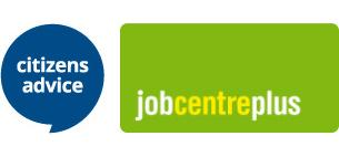 Image showing Citizens Advice and Job Centre Plus Brand Logos