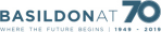 Image showing the Basildon at 70 Logo