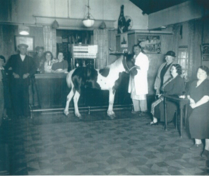 Image showing a Photo of The Barge Pub, Vange circa 1940s from Basildon at 70 Monday Memory contributor Lisa Horner