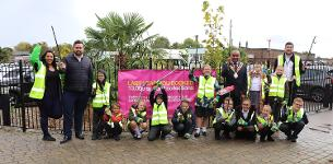 In the news: Basildon school children are cleaning up to support campaign