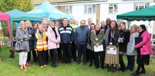 In the news: Estate action and improvement day held on Vange ¾ estate