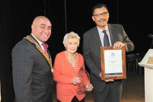 Decorative photo of Charlotte Rose - Lifetime Achievement Award Winner - Basildon Volunteer Awards 2019