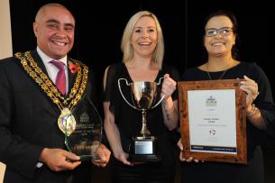 Decorative photo of Karen Pullen - Volunteer of the Year Winner  - Basildon Volunteer Awards 2019