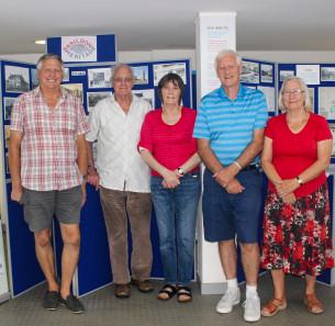 Decorative photo image showing Basildon Heroes - The Basildon Heritage group