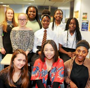 Decorative photo image showing Basildon Heroes - Basildon Borough Youth Council members
