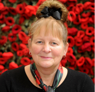Decorative photo image showing Basildon Hero - Gina Blackford