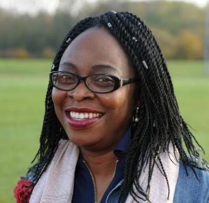Decorative photo image showing Basildon Hero - Lola Oluyomi