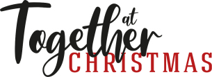Decorative image - Shows graphic text 'Together at Christmas' promoting Basildon Council's Christmas campaign against lonliness and social isolation