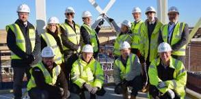 In the news: South Essex College celebrates topping out ceremony in Basildon image