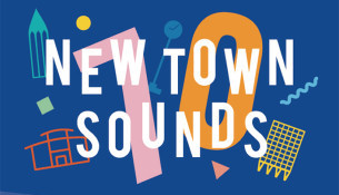 Image promoting Basildon At 70,  New Town Sounds celebration event in August 2019