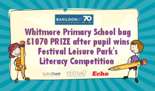Image for Basildon at 70 - Highlights - Children's Writing Competition