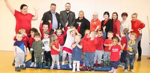 In the news: Busy Bees return to newly refurbished Bluehouse Farm Community Centre