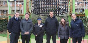 In the news: New play equipment is installed in Whitmore Park