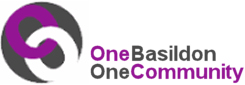 Image showing the Basildon Community Equalities Logo - One Basildon One Community