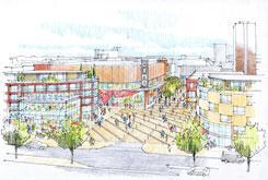 Basildon Town Centre regeneration - Broadmayne and Cinema