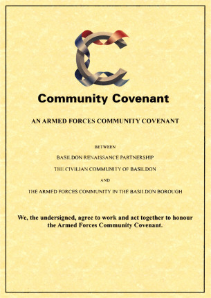 Image of the Basildon Armed Forces Community Covenant
