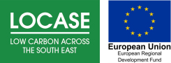 Button image showing LoCASE Brand Logo - links to Low Carbon Across the South East (LoCASE) website