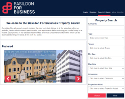 Button image - links to Basildon For Business - Property Search Portal