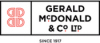 Image showing the Gerald McDonald & Co Ltd brand logo
