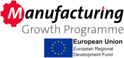Button image links to the Manufacturing Growth Programme